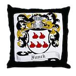 Funck Coat of Arms Throw Pillow