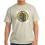 Treasure Island Police Ash Grey T-Shirt