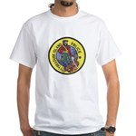 Treasure Island Police White T-Shirt