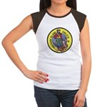 Treasure Island Police Women's Cap Sleeve T-Shirt