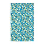 Geo Dots Mosaic Blue 3'x5' Area Rug