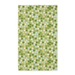 Geo Dots Mosaic Green 3'x5' Area Rug