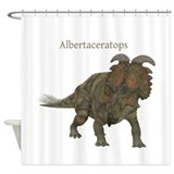 Albertaceratops Shower Curtain