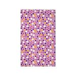 Geo Dots Mosaic Lilac 3'x5' Area Rug
