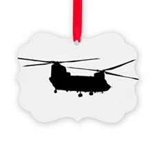 Unique Helicopters Ornament