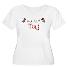 Taj, Christmas T-Shirt