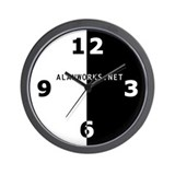 The Alanworks.Net Wall Clock