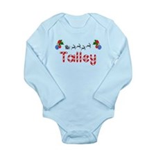 Talley, Christmas Long Sleeve Infant Bodysuit