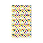 Geo Triangle Yellow 3'x5' Area Rug