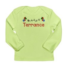 Terrance, Christmas Long Sleeve Infant T-Shirt