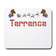 Terrence, Christmas Mousepad