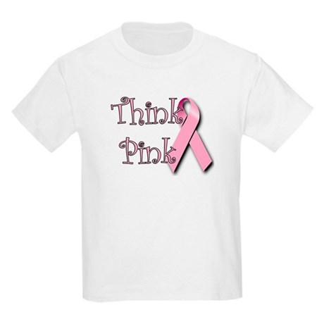 Think Pink (1) Kids T-Shirt