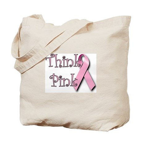 Think Pink (1) Tote Bag