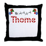 Thome, Christmas Throw Pillow