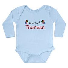 Thorsen, Christmas Long Sleeve Infant Bodysuit