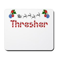 Thresher, Christmas Mousepad