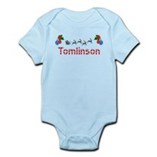 Tomlinson, Christmas Infant Bodysuit