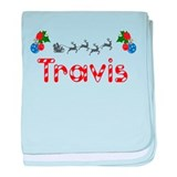 Travis, Christmas baby blanket
