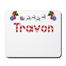 Travon, Christmas Mousepad