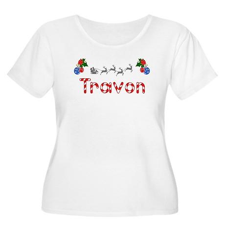 Travon, Christmas Women's Plus Size Scoop Neck T-S