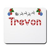 Trevon, Christmas Mousepad