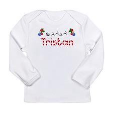 Tristan, Christmas Long Sleeve Infant T-Shirt