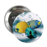 tropical fish Button
