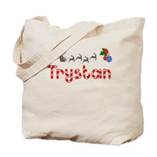 Trystan, Christmas Tote Bag