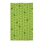 Leaves Green 3'x5' Area Rug