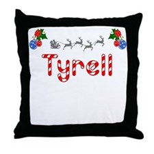 Tyrell, Christmas Throw Pillow