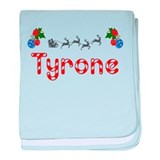 Tyrone, Christmas baby blanket