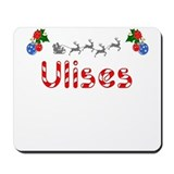 Ulises, Christmas Mousepad