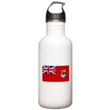 Flag of Canada 1921 - 1957 Sports Water Bottle