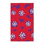 Mari Mek Red/Purple 3'x5' Area Rug