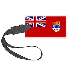 Flag of Canada 1957 - 1965 Luggage Tag