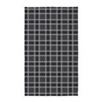 Plaid Classic Black 3'x5' Area Rug