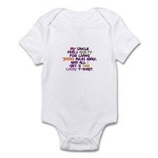 My Uncle Feels Guilty Infant Bodysuit