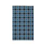 Plaid Classic Blue 3'x5' Area Rug