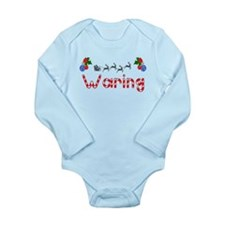 Waring, Christmas Long Sleeve Infant Bodysuit