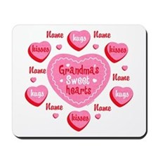 Grandma's Sweethearts Personalized Mousepad
