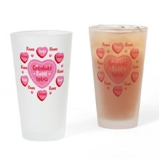 Grandma's Sweethearts Personalized Drinking Glass