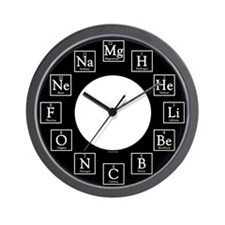 Cute Chemist Wall Clock