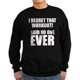 I hate Burpees Jumper Sweater