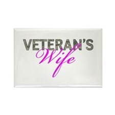 Air Force Vet's Wife Rectangle Magnet (10 pack)