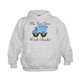 Aunt Drives Work Trucks Hoodie