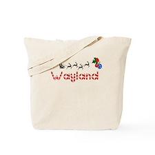 Wayland, Christmas Tote Bag