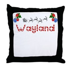 Wayland, Christmas Throw Pillow
