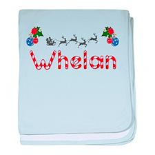 Whelan, Christmas baby blanket