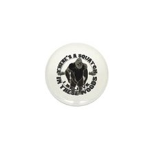 Believe in Bigfoot Mini Button (10 pack)