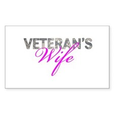 ACU Army Vet Wife Decal